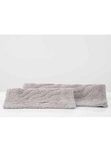 İrya Banyo Paspası Takımı Estela Mor 40x60+55x85 Mor